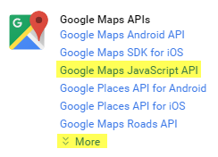 Learn how to Create Google Maps API Keys for use with Connections on
