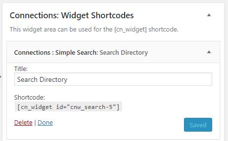 Widget Shortcodes