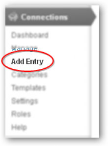 Step 6: Click Add Entry.