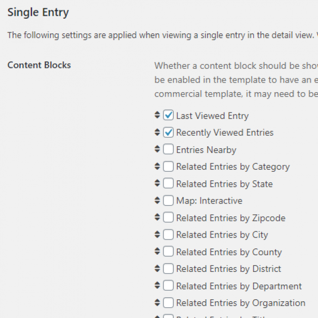 Connections 9.10: Recently Viewed Entries Content Blocks
